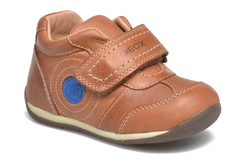 Schoenen met klitteband Geox B Each Boy B540BD Bruin detail