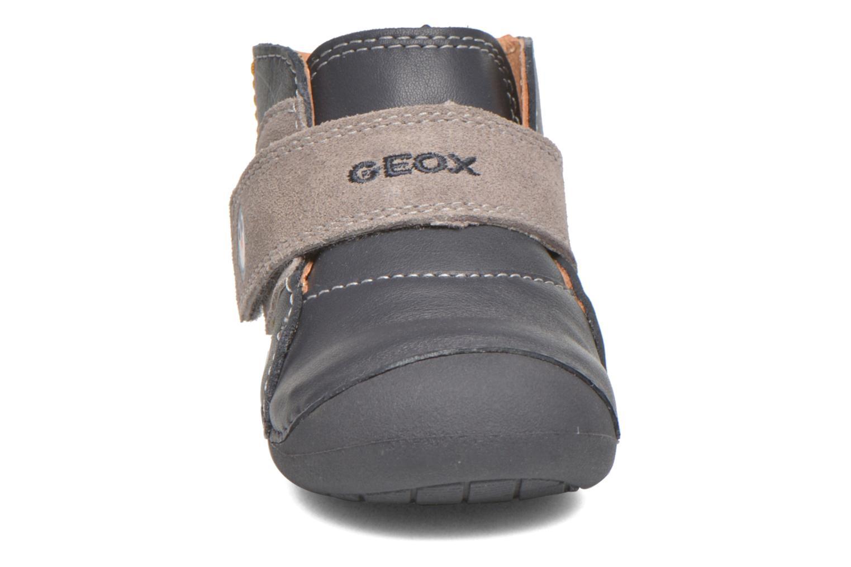 Chaussures à scratch Geox B Tutim B5439A Bleu vue portées chaussures