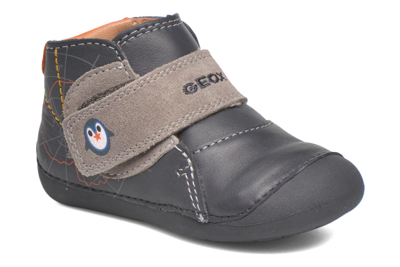 Zapatos con velcro Geox B Tutim B5439A Azul vista de detalle / par
