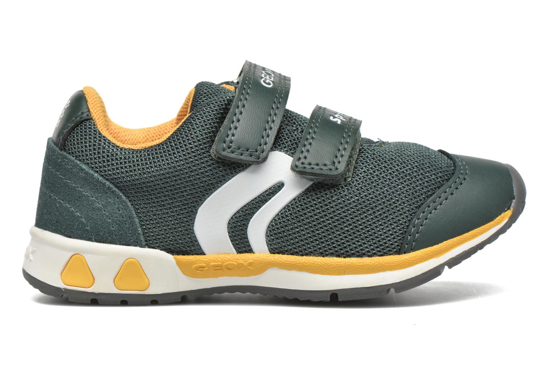 Sneaker Geox B Teppei Boy B54S9C grün ansicht von hinten