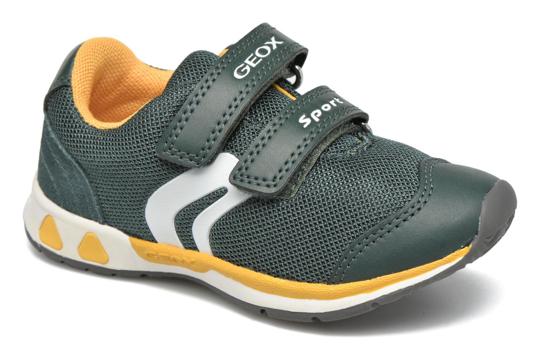 Sneaker Geox B Teppei Boy B54S9C grün detaillierte ansicht/modell