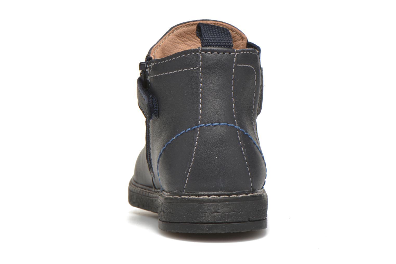 Bottines et boots Geox B Glimmer B54D2A Bleu vue droite