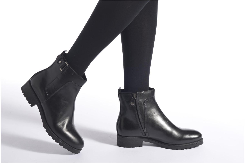 Stiefeletten & Boots Geox Donna Natalie D54U2C beige ansicht von unten / tasche getragen