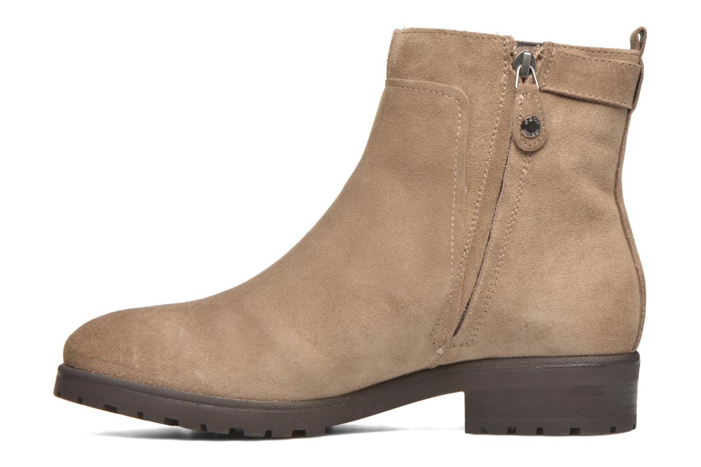 Stiefeletten & Boots Geox Donna Natalie D54U2C beige ansicht von vorne