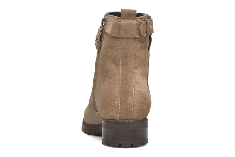 Stiefeletten & Boots Geox Donna Natalie D54U2C beige ansicht von rechts