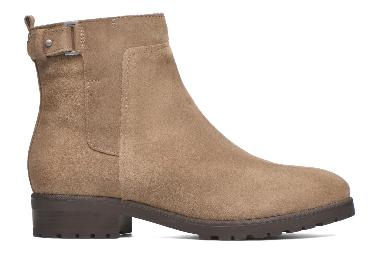 Stiefeletten & Boots Geox Donna Natalie D54U2C beige ansicht von hinten