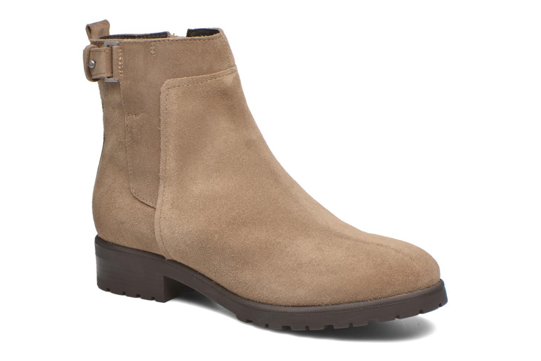 Stiefeletten & Boots Geox Donna Natalie D54U2C beige detaillierte ansicht/modell