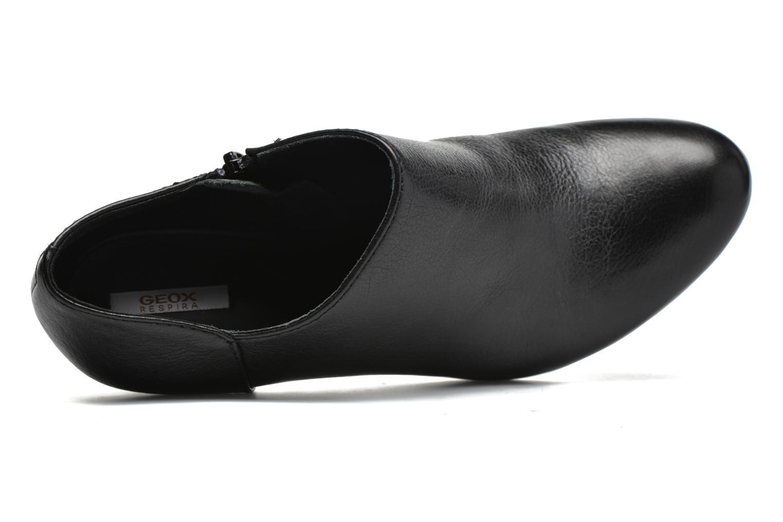 Bottines et boots Geox D New Mariele High D4498B Noir vue gauche