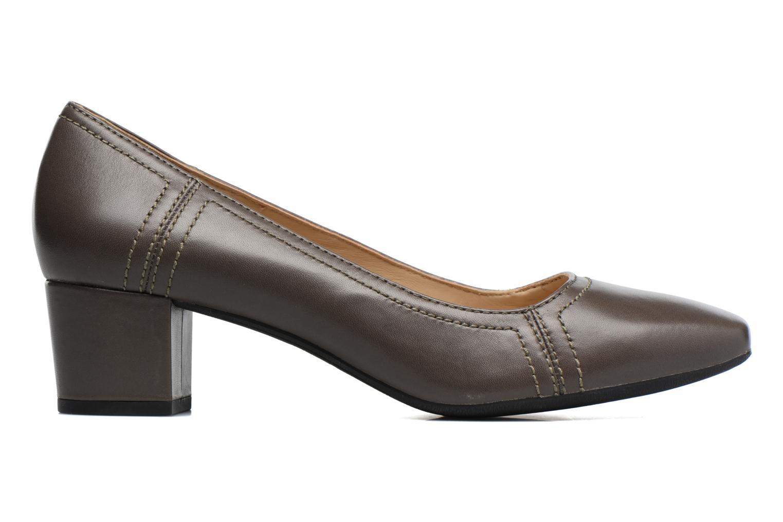 High heels Geox D Brianna D44M1C Grey back view