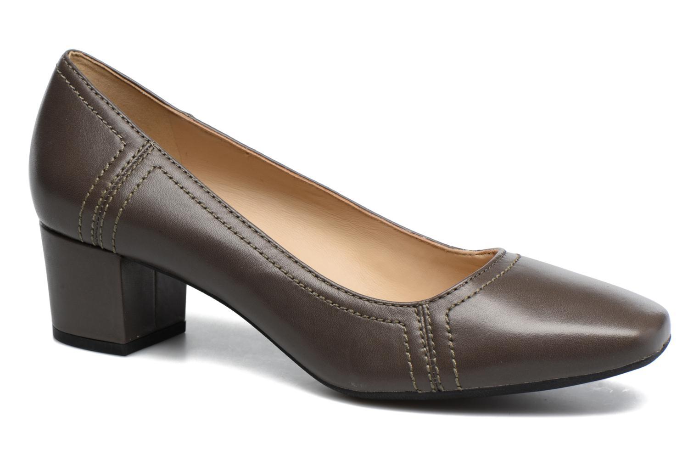High heels Geox D Brianna D44M1C Grey detailed view/ Pair view