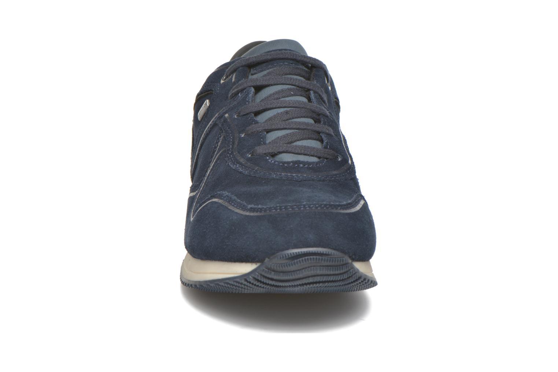 Baskets Geox U Rush B ABX U54S8A Bleu vue portées chaussures