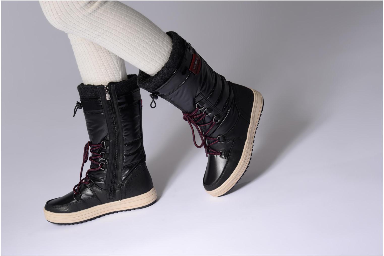Stiefeletten & Boots Tom Tailor Angelle schwarz ansicht von unten / tasche getragen