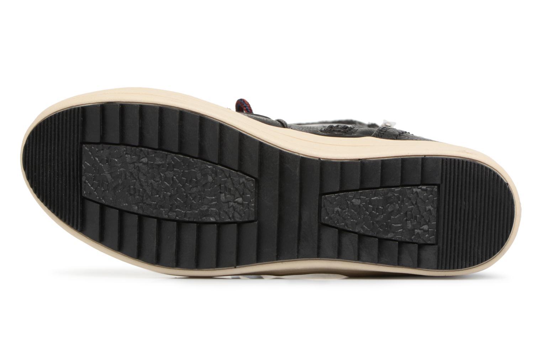 Stiefeletten & Boots Tom Tailor Angelle schwarz ansicht von oben