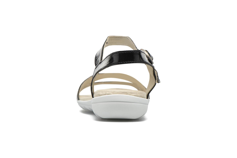 Sandaler TBS Nikkia Sort Se fra højre