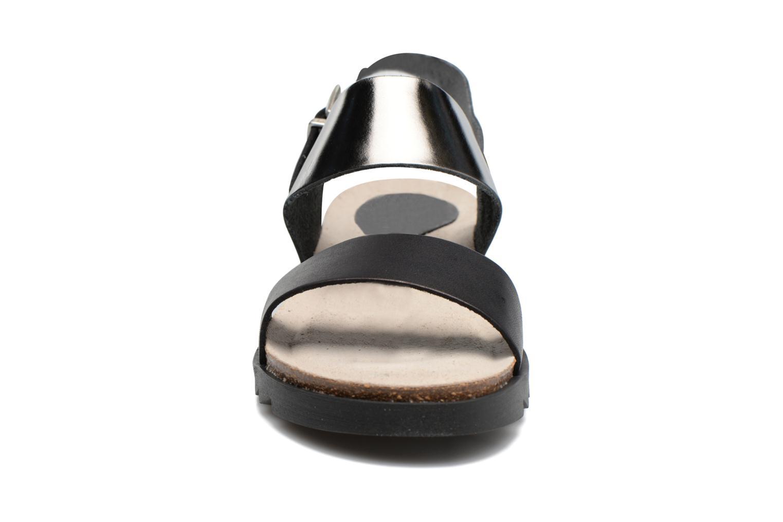 Sandalen TBS Tamara schwarz schuhe getragen