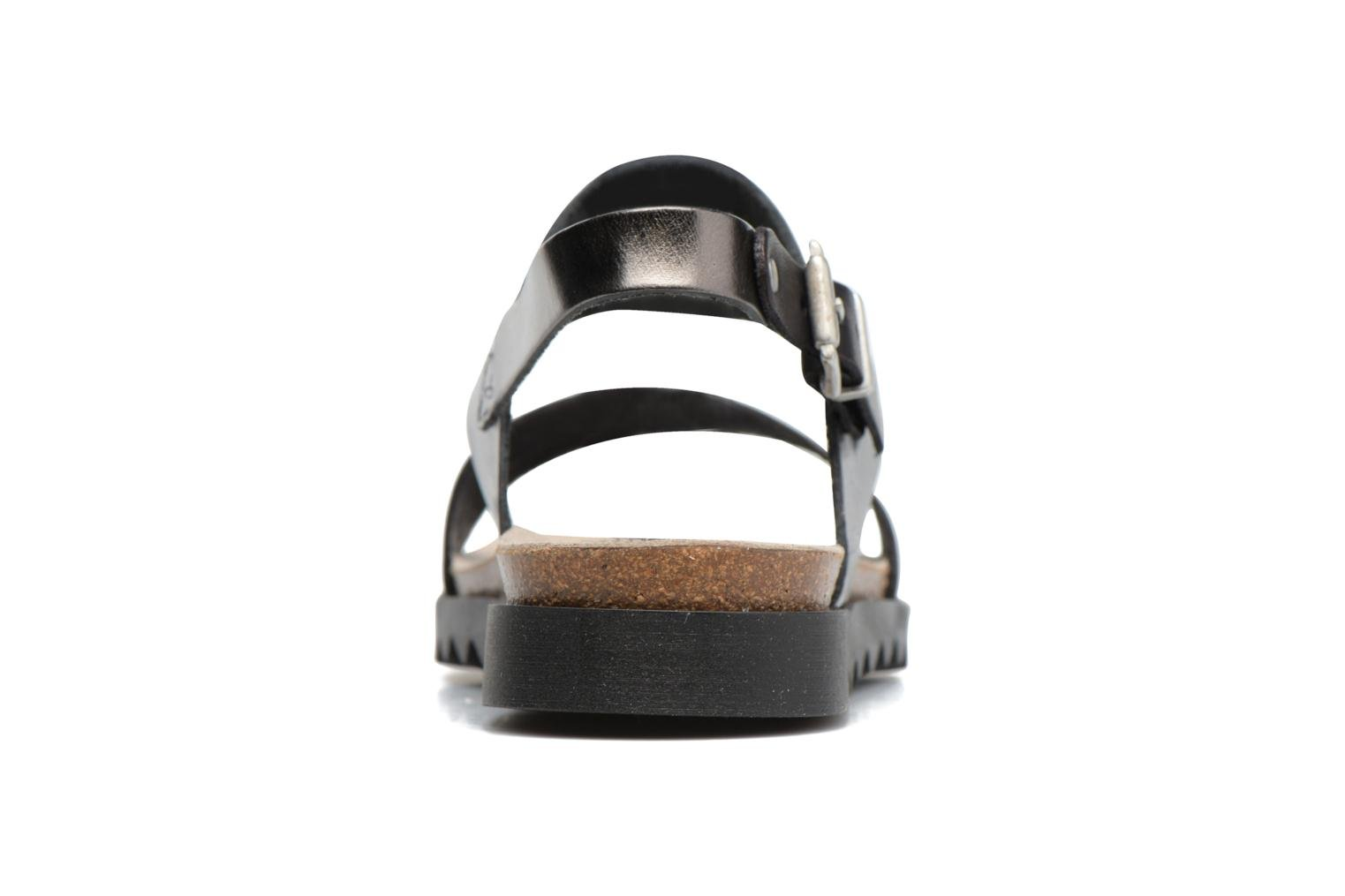 Sandals TBS Tamara Black view from the right