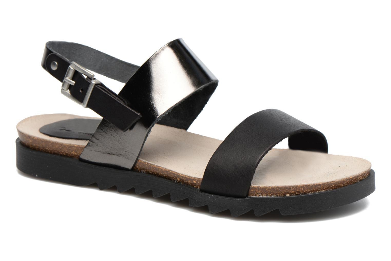 Sandals TBS Tamara Black detailed view/ Pair view