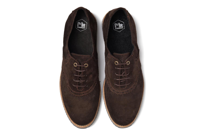 Zapatos con cordones Mr SARENZA Stawugs Marrón vista del modelo