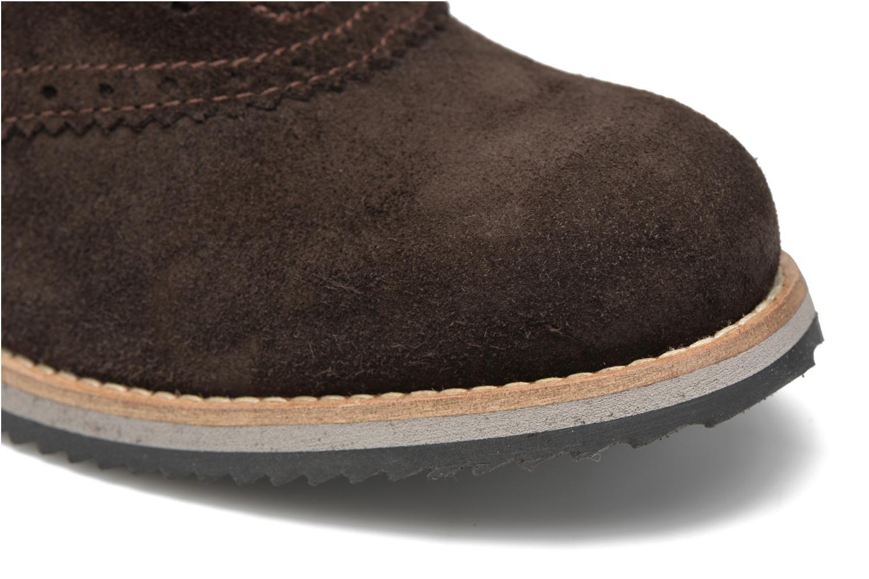Zapatos con cordones Mr SARENZA Stawugs Marrón vista lateral izquierda