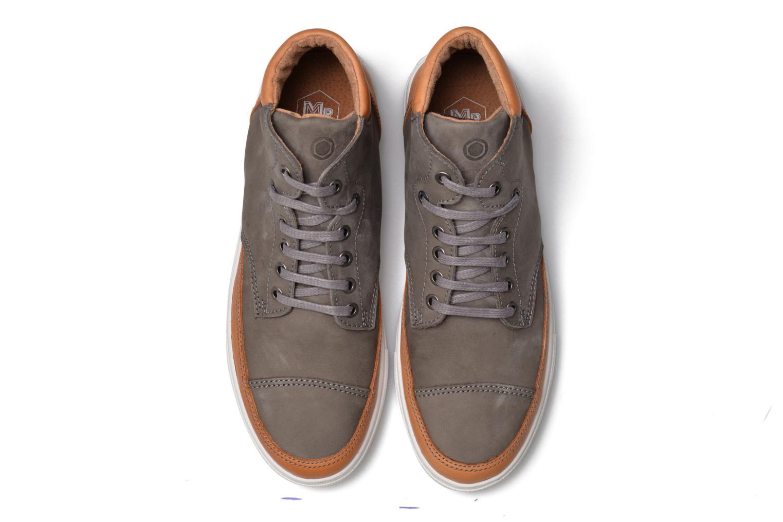 Sneaker Mr SARENZA Stridor grau schuhe getragen