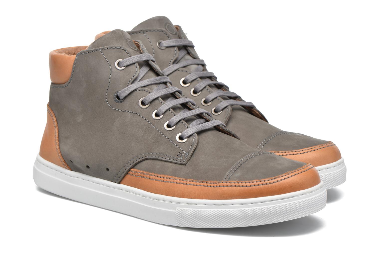 Sneakers Mr SARENZA Stridor Grijs achterkant