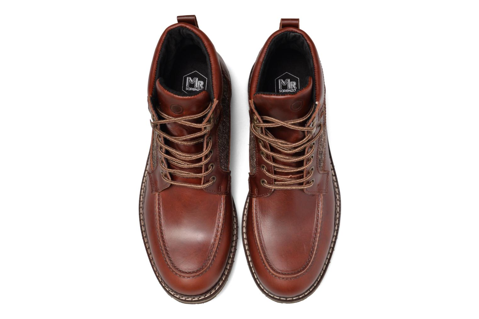 Ankle boots Mr SARENZA Newfeel Brown model view