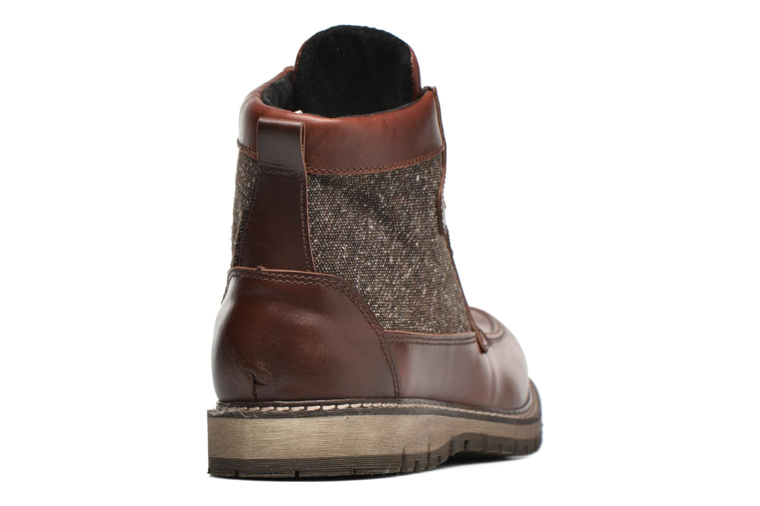 Ankle boots Mr SARENZA Newfeel Brown front view