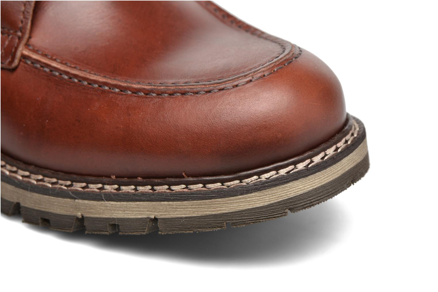 Ankle boots Mr SARENZA Newfeel Brown view from the left