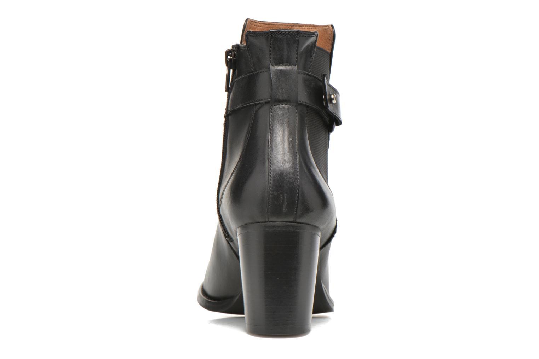 Bottines et boots Georgia Rose Villandry Noir vue droite