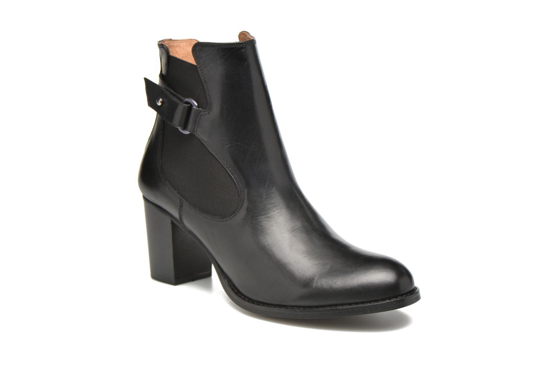 Bottines et boots Georgia Rose Villandry Noir vue détail/paire