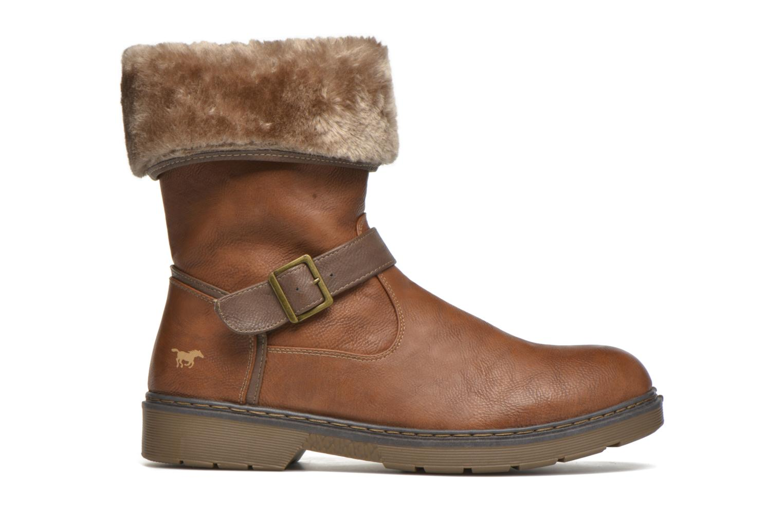 Bottines et boots Mustang shoes Musdi Marron vue derrière