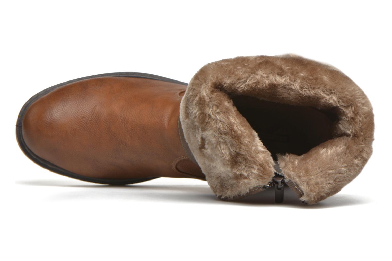 Bottines et boots Mustang shoes Musdi Marron vue gauche