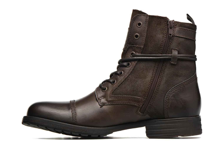 Bottines et boots Mustang shoes Mikaï Marron vue face