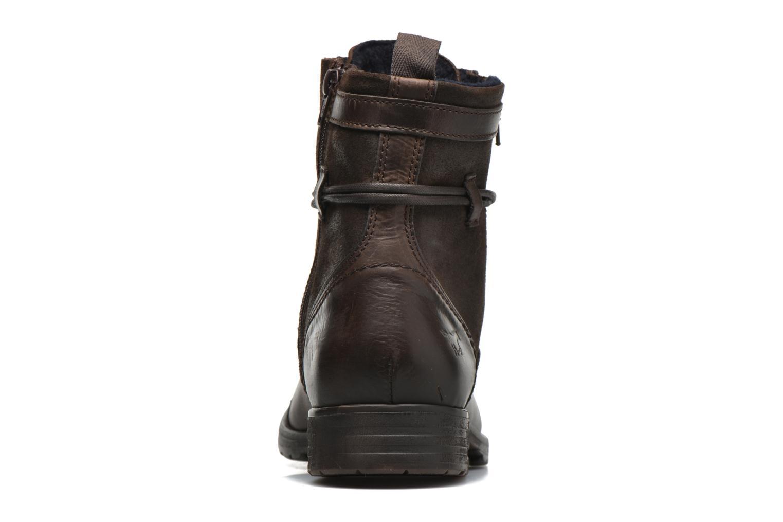 Bottines et boots Mustang shoes Mikaï Marron vue droite