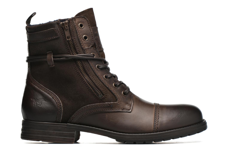 Bottines et boots Mustang shoes Mikaï Marron vue derrière