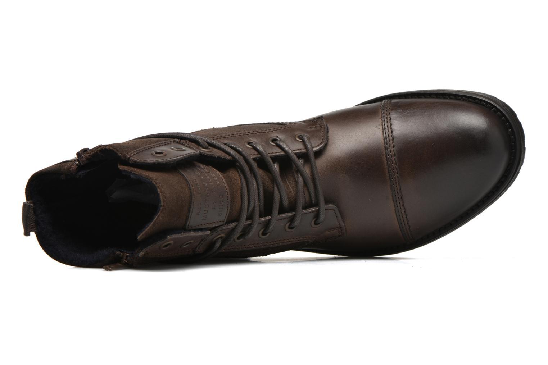 Bottines et boots Mustang shoes Mikaï Marron vue gauche
