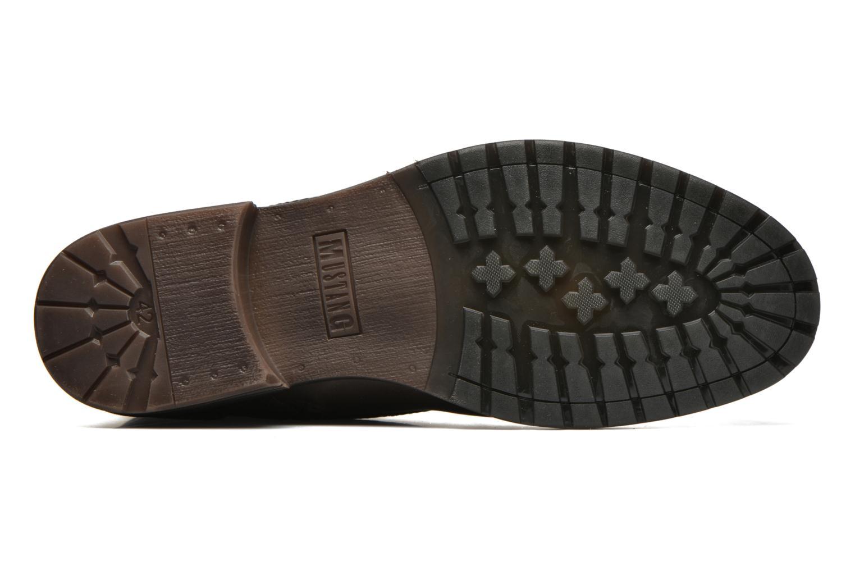 Bottines et boots Mustang shoes Mikaï Marron vue haut
