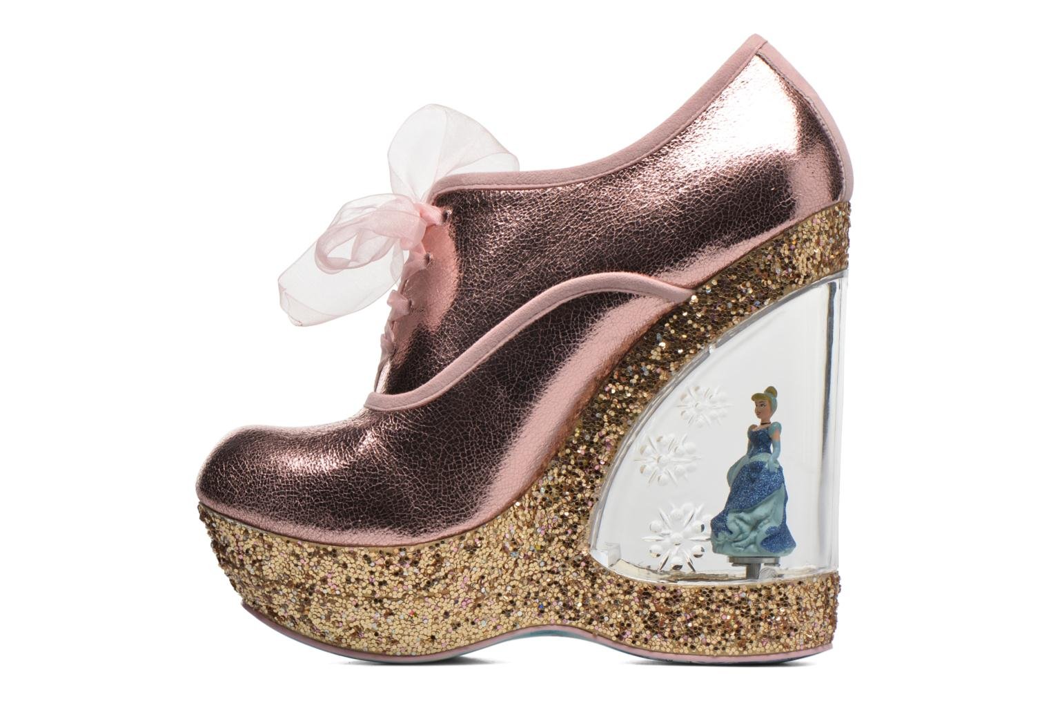 Chaussures à lacets Irregular Choice HOME BEFORE 12 Rose vue face