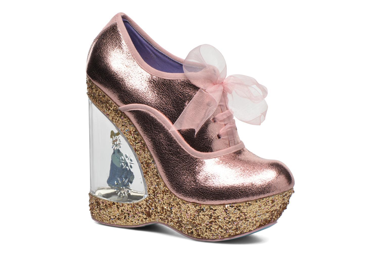 Schnürschuhe Irregular choice HOME BEFORE 12 rosa detaillierte ansicht/modell