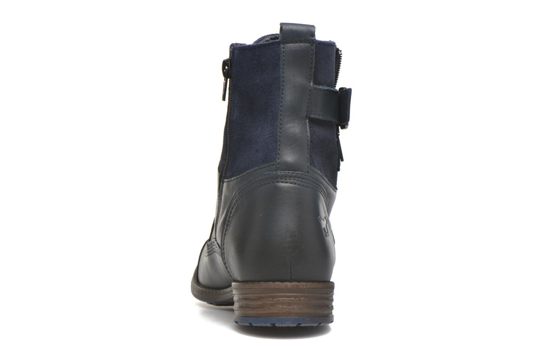 Boots en enkellaarsjes Mustang shoes Muchau Blauw rechts