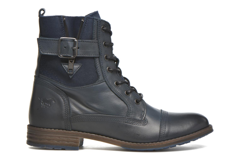 Boots en enkellaarsjes Mustang shoes Muchau Blauw achterkant