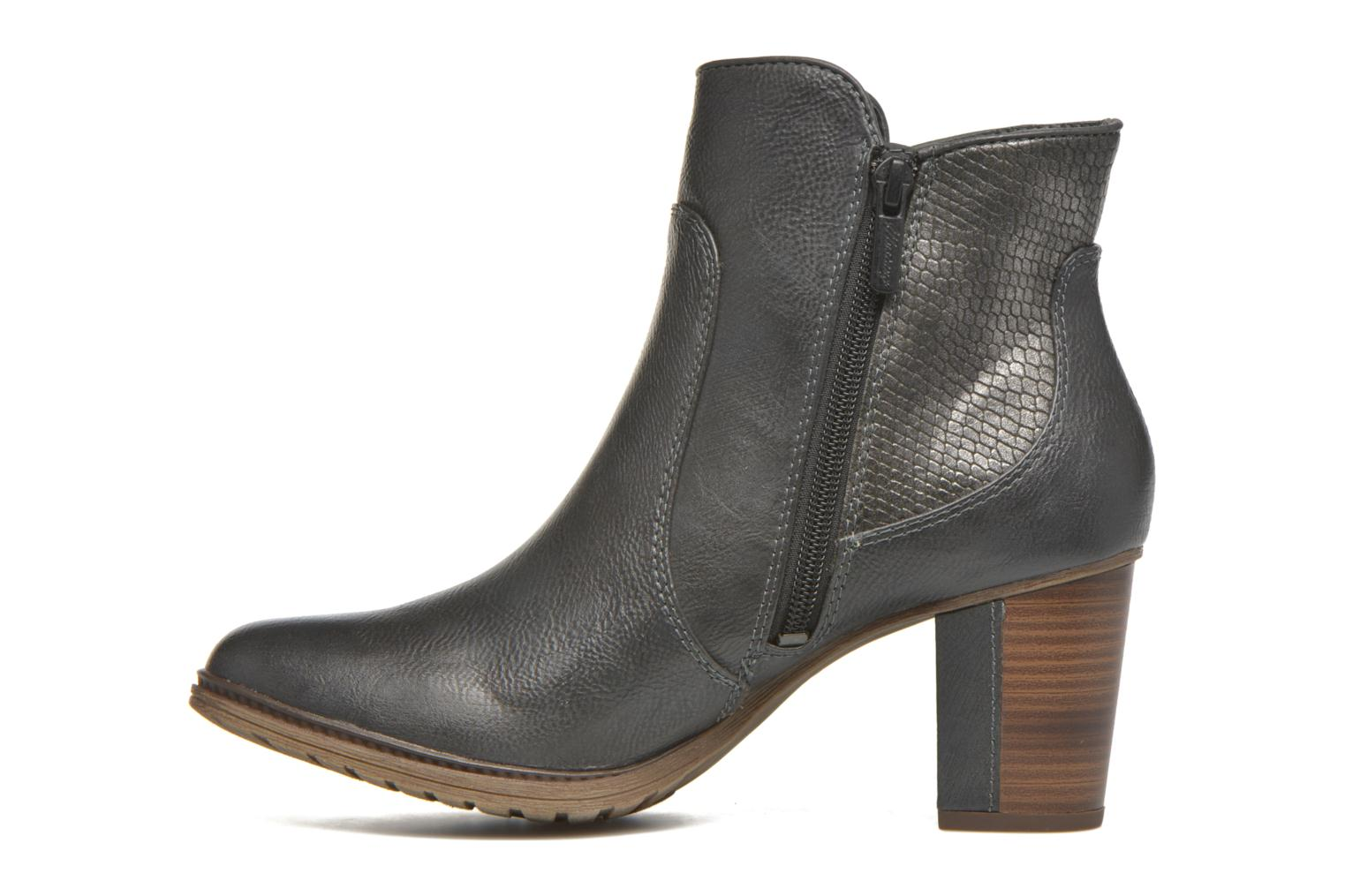 Ankle boots Mustang shoes Muphit Grey front view
