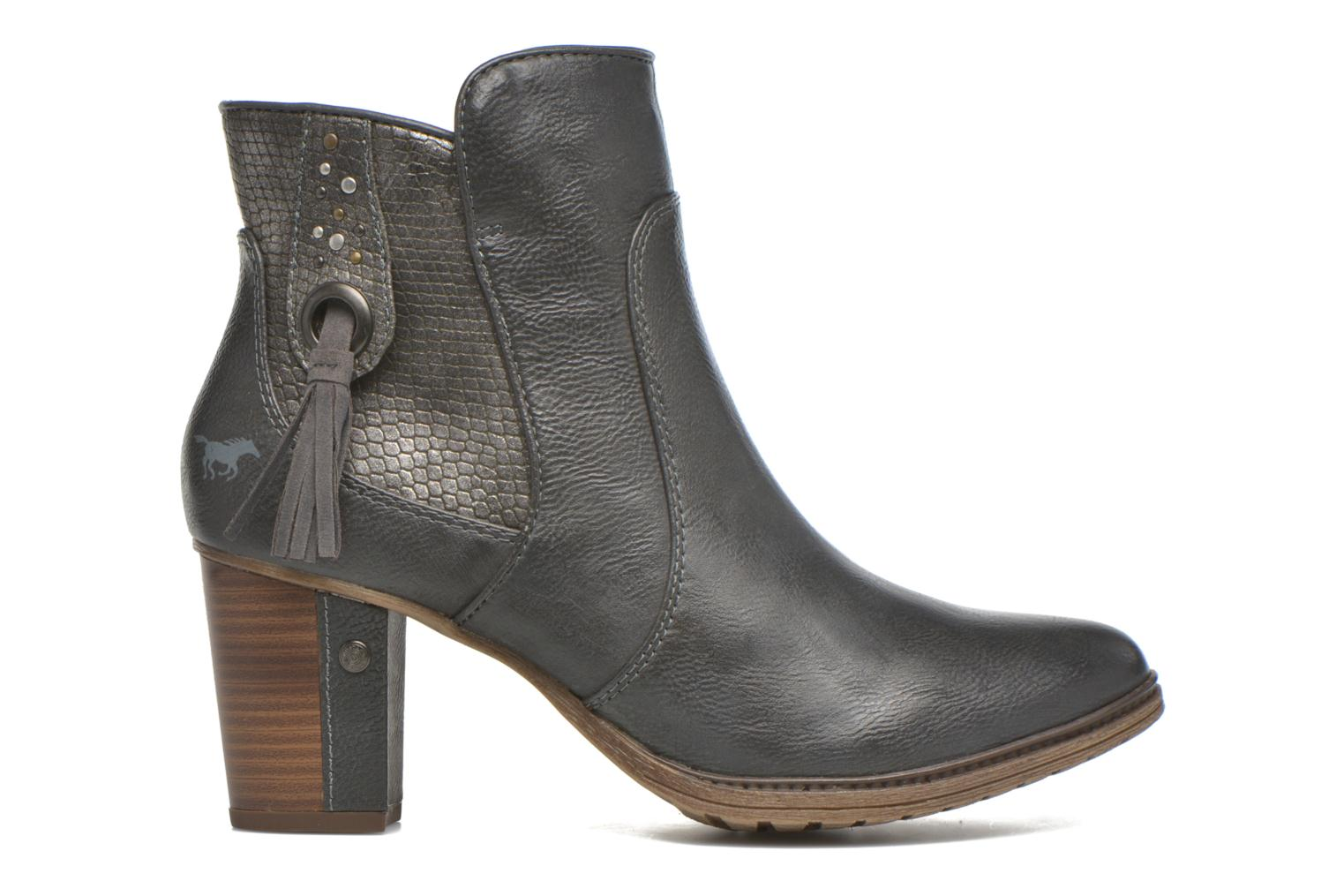 Ankle boots Mustang shoes Muphit Grey back view