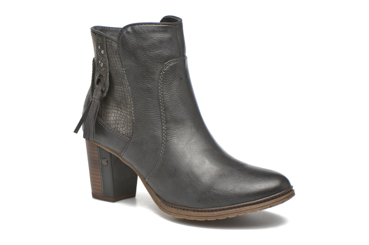 Ankle boots Mustang shoes Muphit Grey detailed view/ Pair view