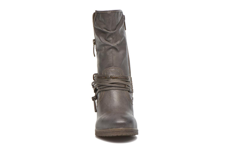Bottines et boots Mustang shoes Makel Gris vue portées chaussures