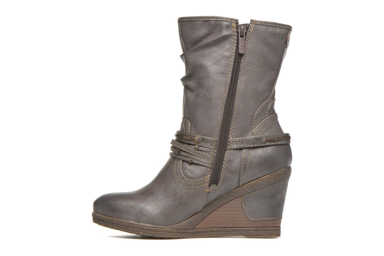Bottines et boots Mustang shoes Makel Gris vue face