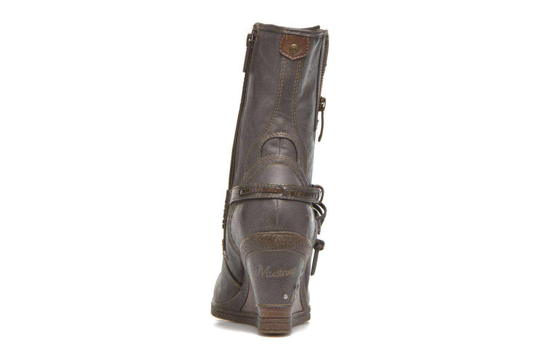 Bottines et boots Mustang shoes Makel Gris vue droite