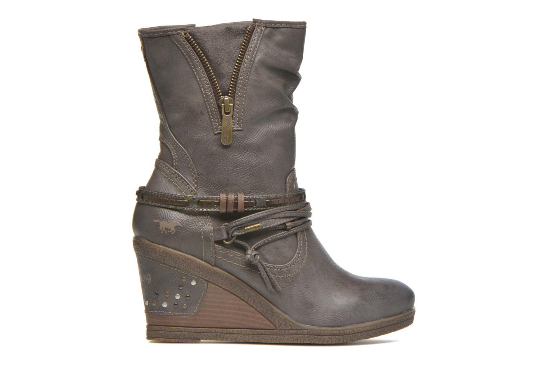 Bottines et boots Mustang shoes Makel Gris vue derrière
