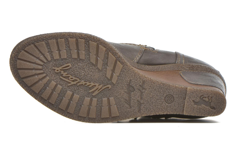 Bottines et boots Mustang shoes Makel Gris vue haut