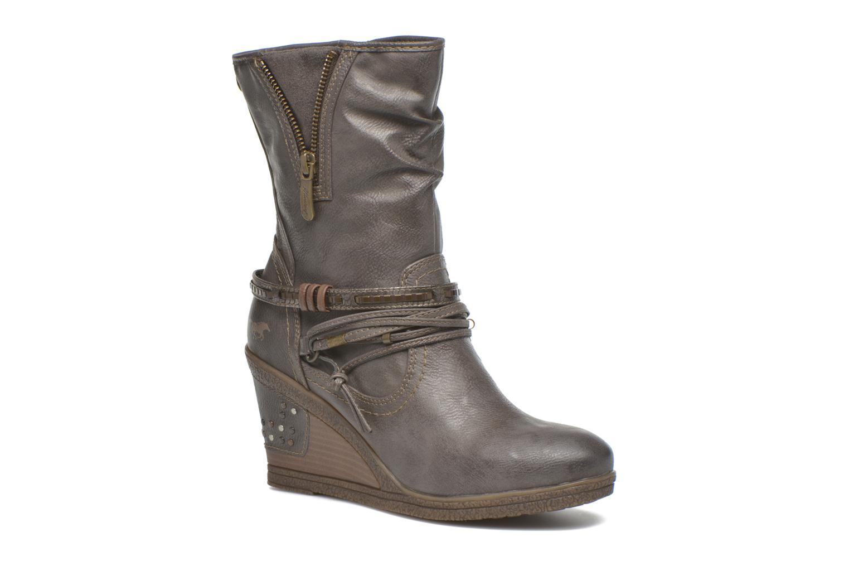 Bottines et boots Mustang shoes Makel Gris vue détail/paire